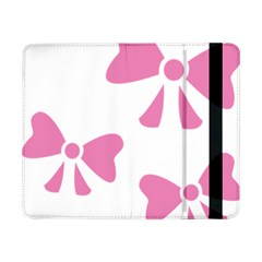 Bow Ties Pink Samsung Galaxy Tab Pro 8 4  Flip Case by Alisyart