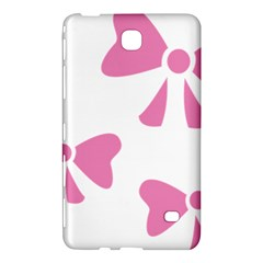 Bow Ties Pink Samsung Galaxy Tab 4 (8 ) Hardshell Case  by Alisyart