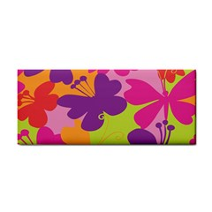 Butterfly Animals Rainbow Color Purple Pink Green Yellow Cosmetic Storage Cases by Alisyart