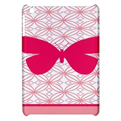 Butterfly Animals Pink Plaid Triangle Circle Flower Apple Ipad Mini Hardshell Case by Alisyart