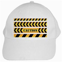 Caution Road Sign Warning Cross Danger Yellow Chevron Line Black White Cap by Alisyart