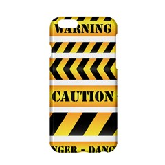 Caution Road Sign Warning Cross Danger Yellow Chevron Line Black Apple Iphone 6/6s Hardshell Case by Alisyart