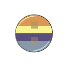 Color Therey Orange Yellow Purple Blue Hat Clip Ball Marker (10 Pack) by Alisyart