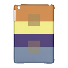 Color Therey Orange Yellow Purple Blue Apple Ipad Mini Hardshell Case (compatible With Smart Cover) by Alisyart