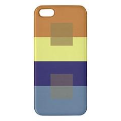 Color Therey Orange Yellow Purple Blue Iphone 5s/ Se Premium Hardshell Case by Alisyart
