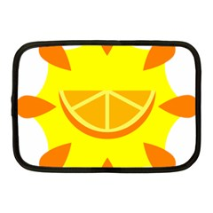 Citrus Cutie Request Orange Limes Yellow Netbook Case (medium)  by Alisyart