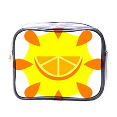 Citrus Cutie Request Orange Limes Yellow Mini Toiletries Bags by Alisyart