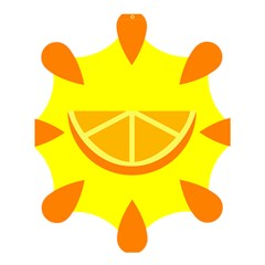 Citrus Cutie Request Orange Limes Yellow Shower Curtain 60  X 72  (medium)  by Alisyart
