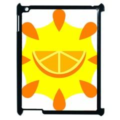 Citrus Cutie Request Orange Limes Yellow Apple Ipad 2 Case (black) by Alisyart
