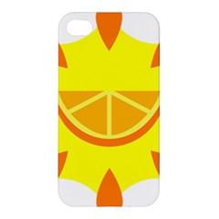 Citrus Cutie Request Orange Limes Yellow Apple Iphone 4/4s Hardshell Case by Alisyart