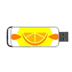 Citrus Cutie Request Orange Limes Yellow Portable Usb Flash (two Sides) by Alisyart