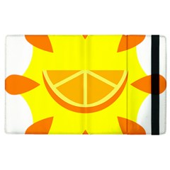 Citrus Cutie Request Orange Limes Yellow Apple Ipad 3/4 Flip Case by Alisyart