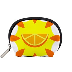 Citrus Cutie Request Orange Limes Yellow Accessory Pouches (small)  by Alisyart