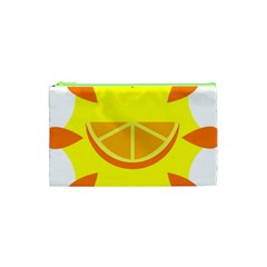 Citrus Cutie Request Orange Limes Yellow Cosmetic Bag (xs) by Alisyart