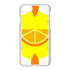 Citrus Cutie Request Orange Limes Yellow Apple Iphone 7 Seamless Case (white) by Alisyart