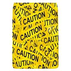 Caution Road Sign Cross Yellow Flap Covers (s)  by Alisyart