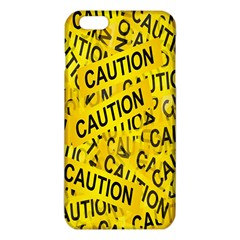 Caution Road Sign Cross Yellow Iphone 6 Plus/6s Plus Tpu Case by Alisyart