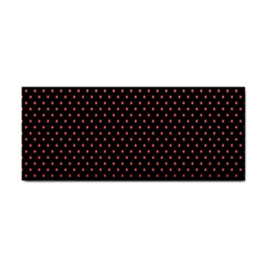Colored Circle Red Black Cosmetic Storage Cases by Alisyart