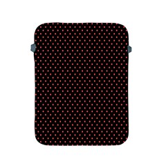 Colored Circle Red Black Apple Ipad 2/3/4 Protective Soft Cases by Alisyart