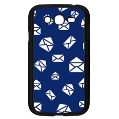 Envelope Letter Sand Blue White Masage Samsung Galaxy Grand Duos I9082 Case (black) by Alisyart
