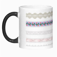 Bird Fly Butterfly Flower Floral Rose Blue Red Pink Morph Mugs by Alisyart