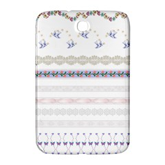 Bird Fly Butterfly Flower Floral Rose Blue Red Pink Samsung Galaxy Note 8 0 N5100 Hardshell Case  by Alisyart