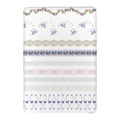 Bird Fly Butterfly Flower Floral Rose Blue Red Pink Samsung Galaxy Tab Pro 12 2 Hardshell Case by Alisyart
