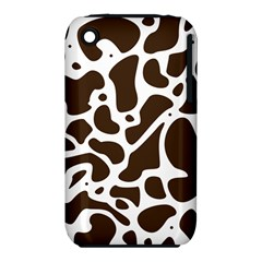 Dalmantion Skin Cow Brown White Iphone 3s/3gs by Alisyart