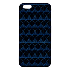 Colored Line Light Triangle Plaid Blue Black Iphone 6 Plus/6s Plus Tpu Case by Alisyart