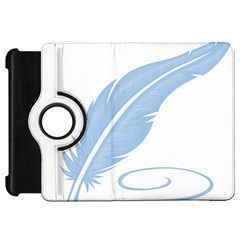 Feather Pen Blue Light Kindle Fire Hd 7  by Alisyart