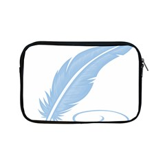 Feather Pen Blue Light Apple Ipad Mini Zipper Cases by Alisyart