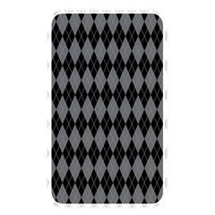Chevron Wave Line Grey Black Triangle Memory Card Reader by Alisyart