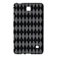 Chevron Wave Line Grey Black Triangle Samsung Galaxy Tab 4 (7 ) Hardshell Case