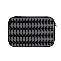 Chevron Wave Line Grey Black Triangle Apple Macbook Pro 13  Zipper Case by Alisyart