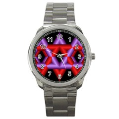 Star Of David Sport Metal Watch by Simbadda