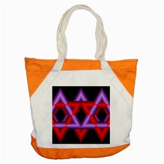 Star Of David Accent Tote Bag by Simbadda
