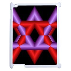 Star Of David Apple Ipad 2 Case (white) by Simbadda