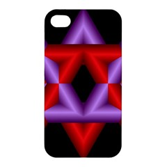Star Of David Apple Iphone 4/4s Hardshell Case by Simbadda