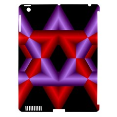Star Of David Apple Ipad 3/4 Hardshell Case (compatible With Smart Cover) by Simbadda