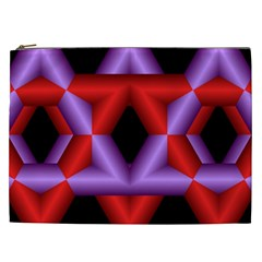 Star Of David Cosmetic Bag (xxl)  by Simbadda