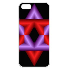 Star Of David Apple Iphone 5 Seamless Case (white) by Simbadda