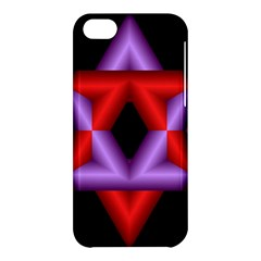 Star Of David Apple Iphone 5c Hardshell Case