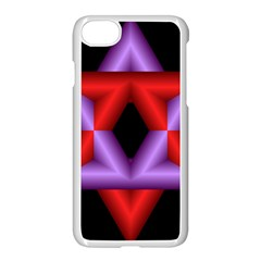 Star Of David Apple Iphone 7 Seamless Case (white) by Simbadda