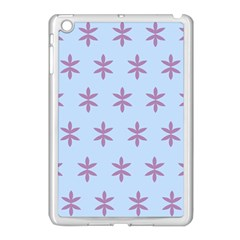Flower Floral Different Colours Blue Purple Apple Ipad Mini Case (white) by Alisyart