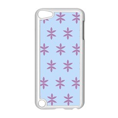 Flower Floral Different Colours Blue Purple Apple Ipod Touch 5 Case (white) by Alisyart