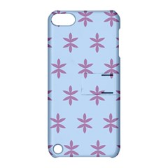 Flower Floral Different Colours Blue Purple Apple Ipod Touch 5 Hardshell Case With Stand by Alisyart