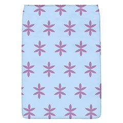 Flower Floral Different Colours Blue Purple Flap Covers (s)  by Alisyart