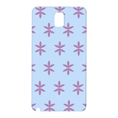 Flower Floral Different Colours Blue Purple Samsung Galaxy Note 3 N9005 Hardshell Back Case by Alisyart
