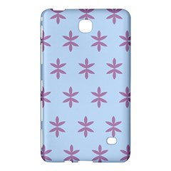Flower Floral Different Colours Blue Purple Samsung Galaxy Tab 4 (7 ) Hardshell Case  by Alisyart