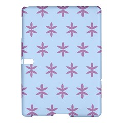 Flower Floral Different Colours Blue Purple Samsung Galaxy Tab S (10 5 ) Hardshell Case  by Alisyart